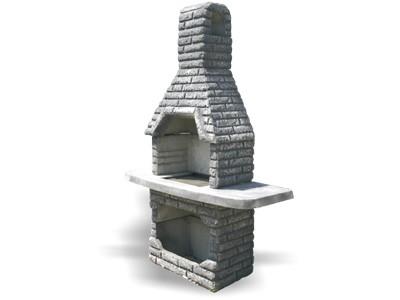 Kamin R-1 barva betona